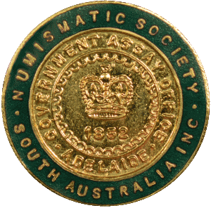 Enamelled NSSA Membership Badge