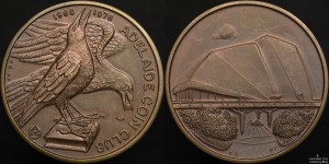 1976 Adelaide Coin Club Medallion