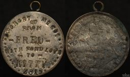 World War 1 Love Token – From Fred with Fond Love to Kitty