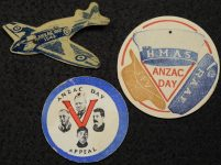 Three RSSAILA Fundraising Badges